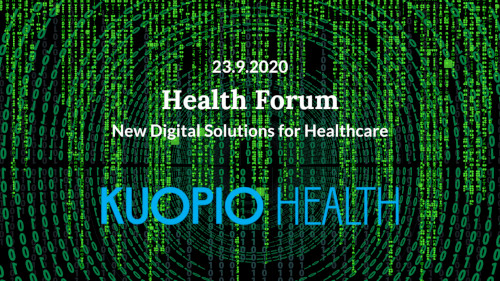 Health Forum – New Digital Solutions for Healthcare