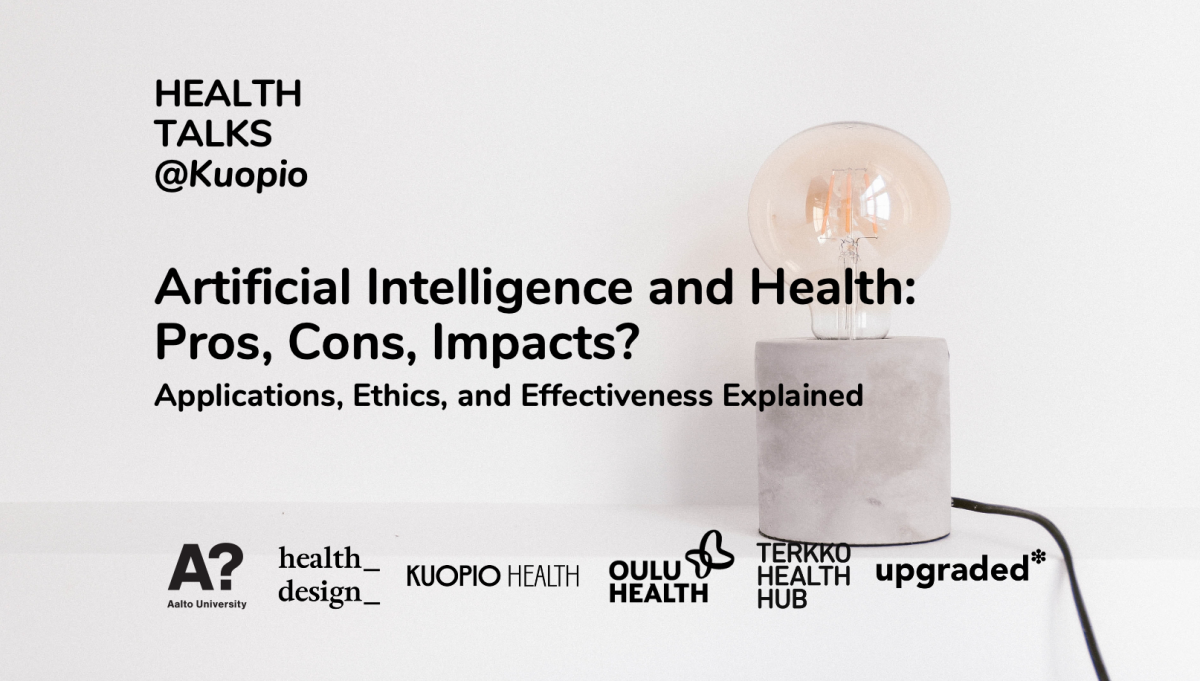 Artificial Intelligence and Health: Pros, Cons, Impacts? - Health Talks